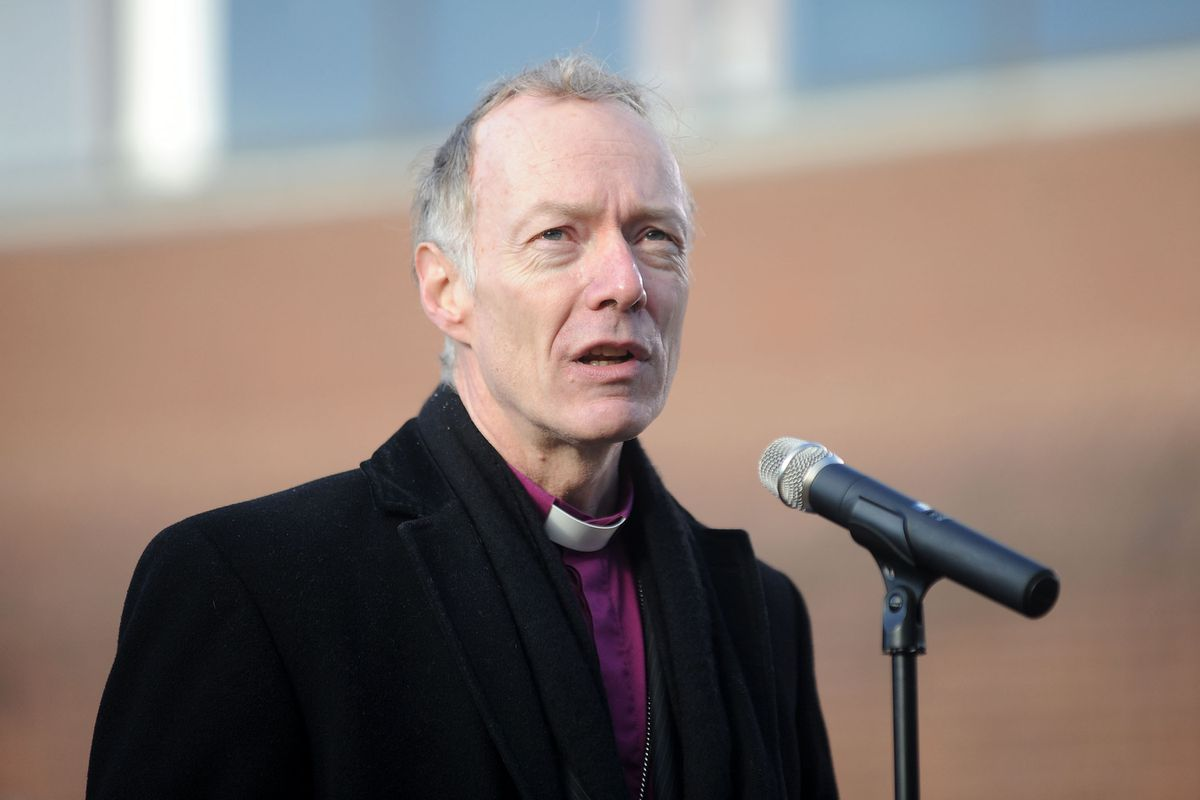 The Bishop of Wolverhampton Rev. Clive Gregory spoke about the idea of Christianity and how it thrives in the modern era
