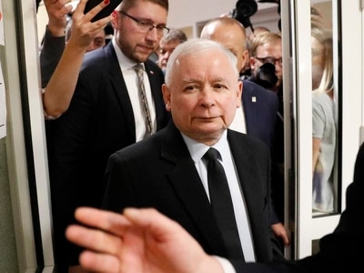 Exit polls suggest win for Poland's ruling Law and Justice party