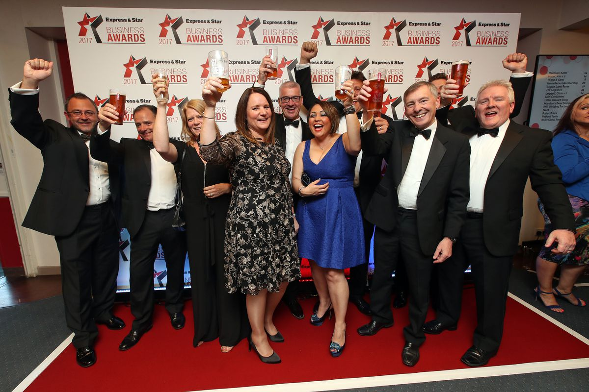 Business of the Year award winners Marston's Beer Company