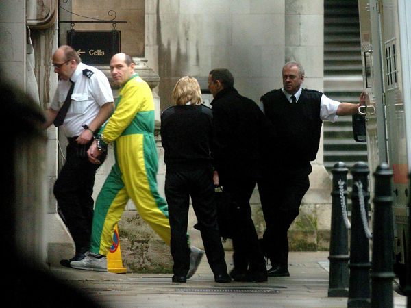 Jack Whomes, then 44, arrives at the Royal Courts of Justice in London in February 2006