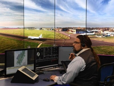 UK airfield uses digital air traffic control centre for first time