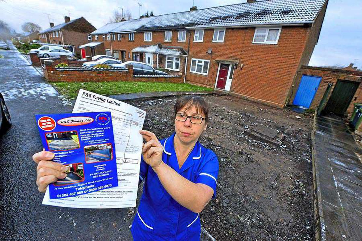 We didn't want our drive dug up! Wolverhampton nurse comes home to muddy patch of land and £2.5k bill - with VIDEO