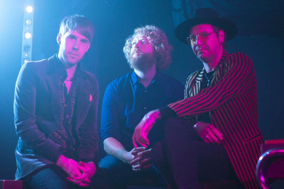 The band has released Four Walls, to support NHS Charities. Picture: Emma Jones
