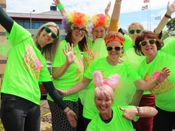 Countdown is on for neon night fun run for Stafford hospice