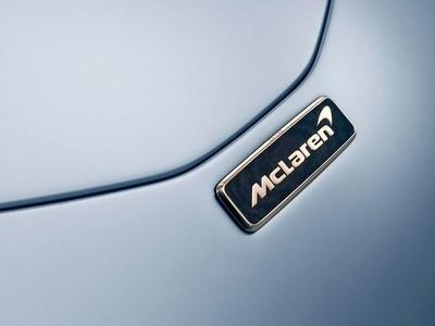 McLaren elevates Speedtail with 18-carat white gold badge
