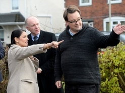 WATCH: Priti Patel vows to end illegal traveller camps on visit to Dudley
