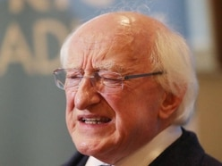 Michael D Higgins says he used private jet following security advice from office