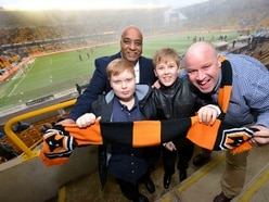 Award winners enjoy box at Molineux