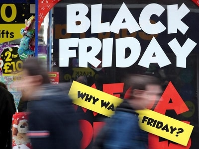 November shopper footfall in worst decline since recession