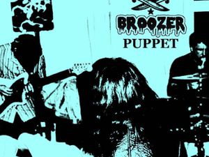 The artwork for Puppet, the new single from Wolverhampton's Broozer