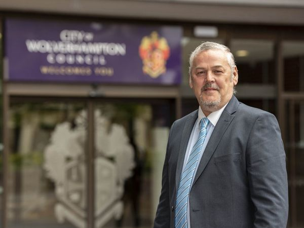 Councillor Ian Brookfield, leader of Wolverhampton Council.
