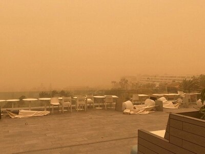 More disruption for Canary Islands holidaymakers stranded by sandstorm