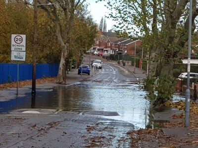 Anger over delays in fixing flooded Wednesbury road