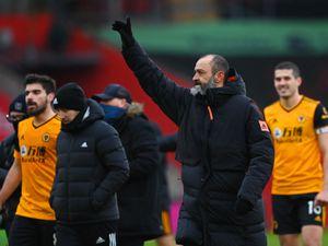 Nuno Espirito Santo the head coach / manager of Wolverhampton Wanderers celebrates (AMA)