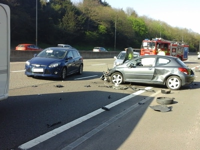 Long delays after multi-vehicle crash on busy Black Country motorway