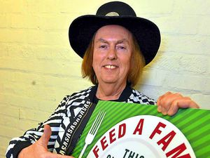 Flamboyant Slade rocker Dave Hill is backing the Express & Star Feed a Family campaign