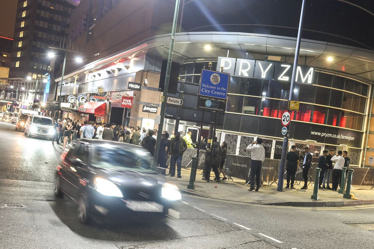 PRYZM nightclub on Broad Street in Birmingham