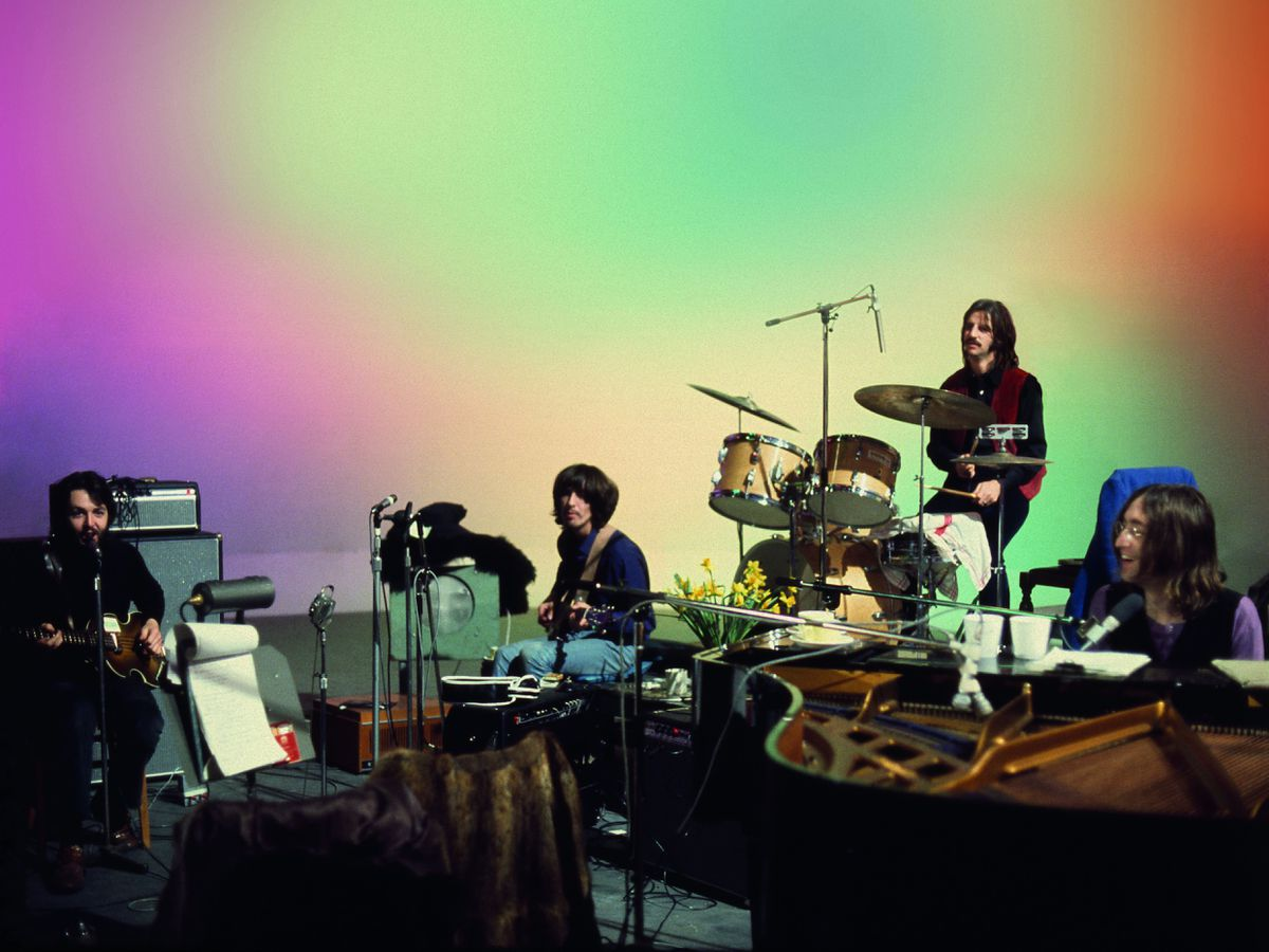 The Beatles: Get Back, a three-part documentary series, is compiled from nearly 60 hours of unseen footage shot in January 1969 (Linda McCartney/2020 Apple Corps Ltd)
