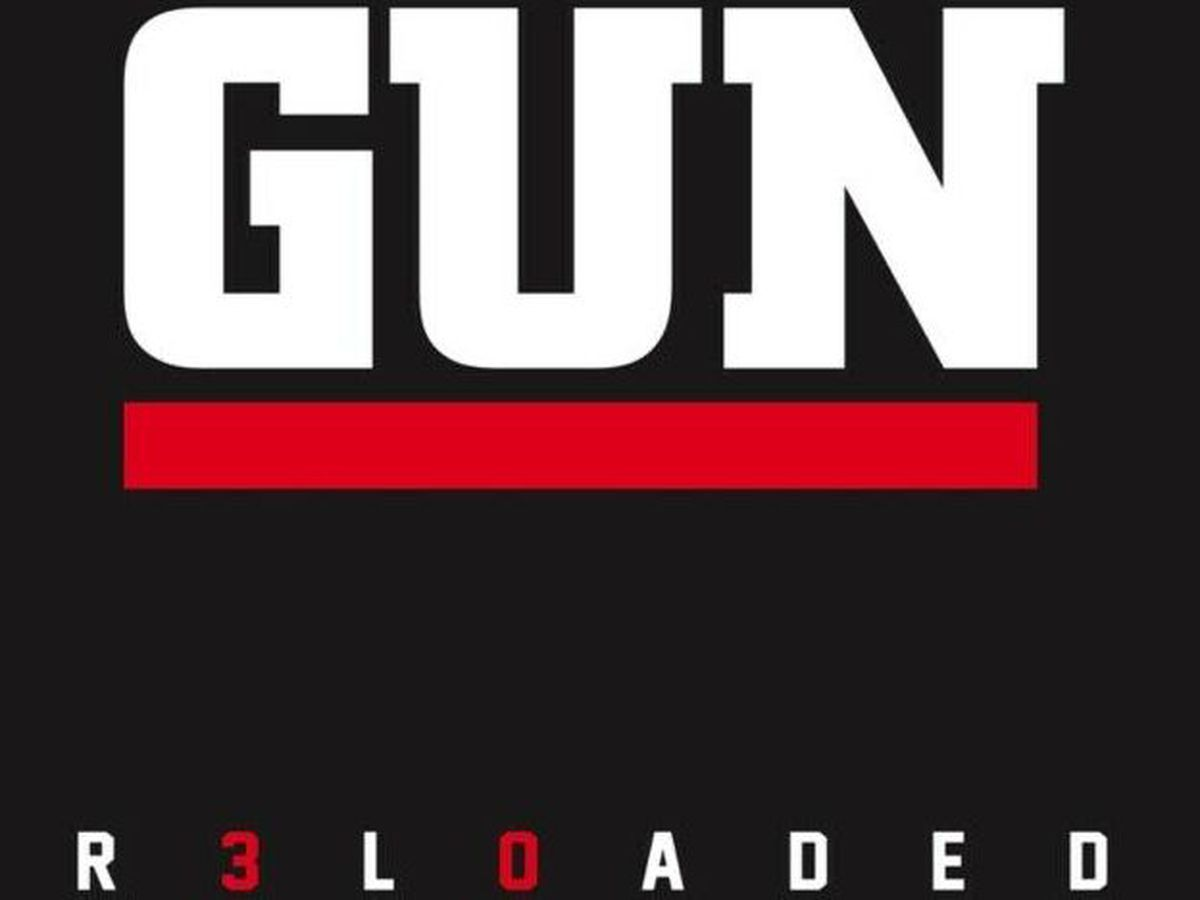 The cover for Gun's greatest hits