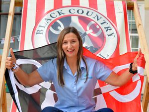 Ready to celebrate Black Country Day Vicky Rogers, manager of Halesowen town centre BID