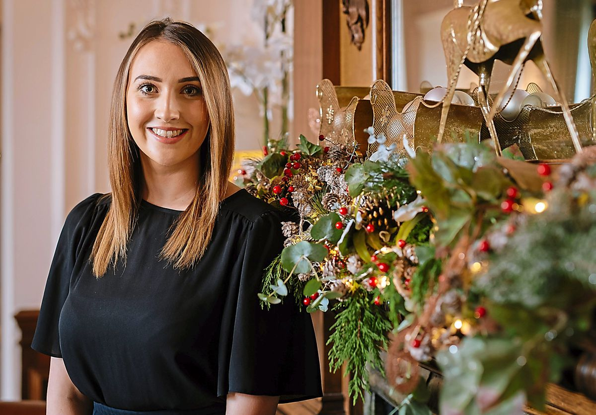 Laura is looking forward to Christmas at Hawkstone