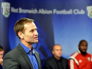 SPORT PATRICK MULVANEY COPYRIGHT EXPRESS & STAR PIC          6/1/2015          Pictures from the official opening of the West Bromwich Albion FC Academy building in Halfords Lane, West Bromwich.     Dan Ashworth speaking at the launch..