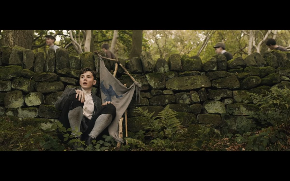 A shot from upcoming film Tolkein