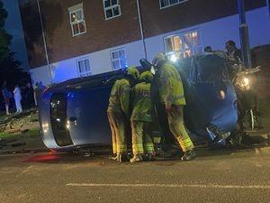 The crash. Photo: Keiron Watson
