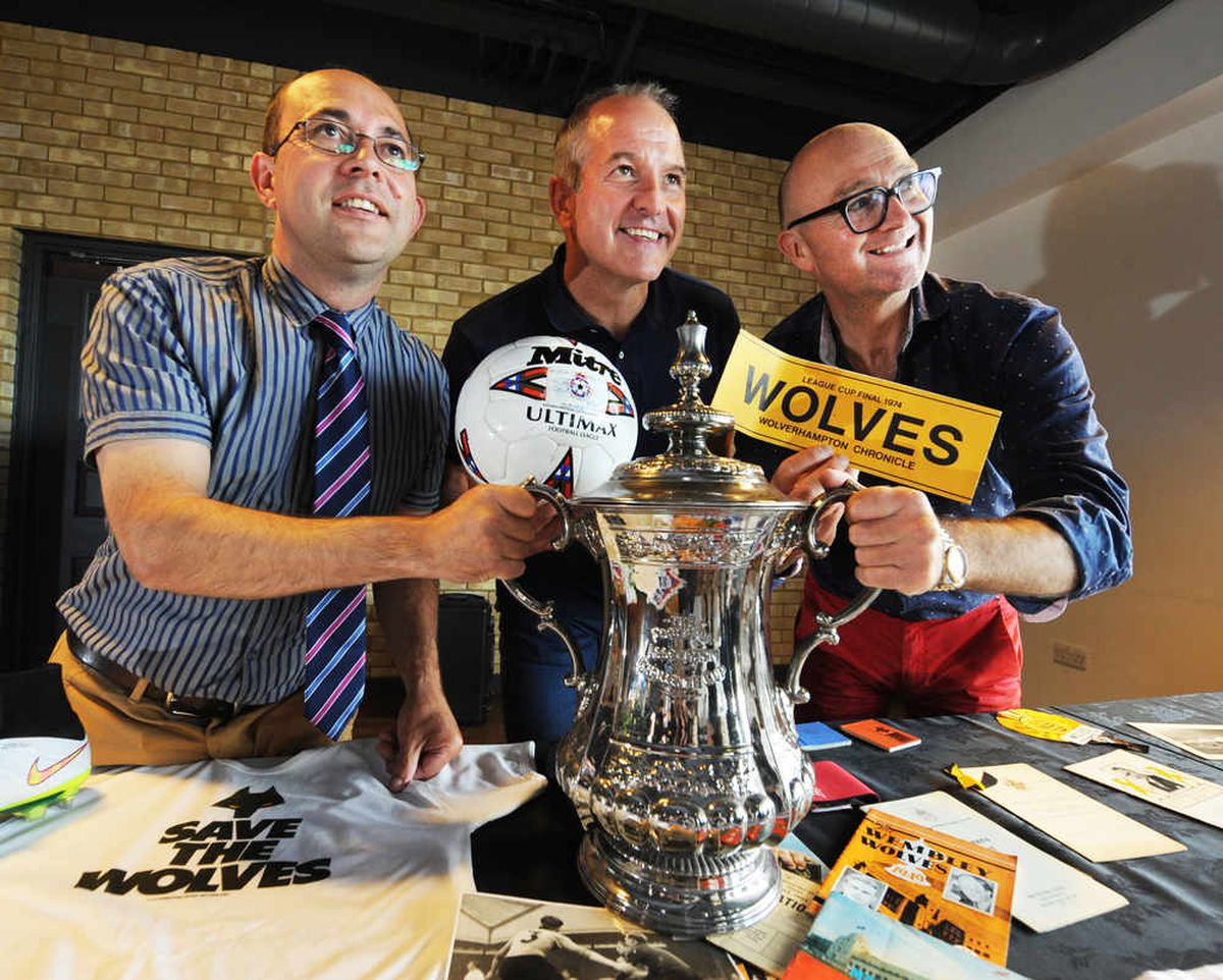Wolves fans show off historic photos and memorabilia at Molineux valuation day