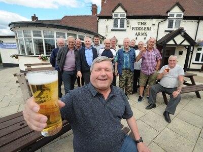 Lower Gornal pub campaigners celebrate victory