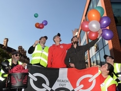 Homeless people remembered in Wolverhampton by balloon event