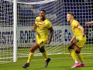 Zak Jules scores against Bristol Rovers