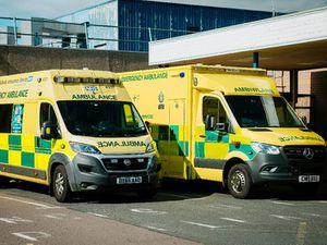Royal Shrewsbury Hospital ambulance stock