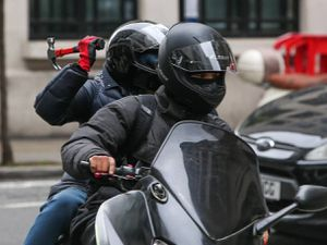 Moped muggers