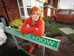 Family still suffering from sewage problem on Cheslyn Hay estate Hartherton Place - two years after moving in