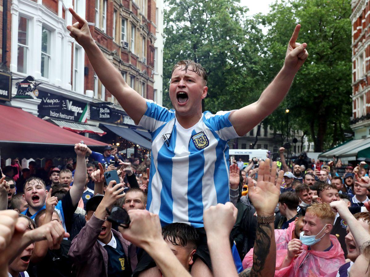 Scotland Fans – London