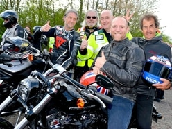 Bike4Life: Thousands take to the road for annual charity ride - with video and pictures