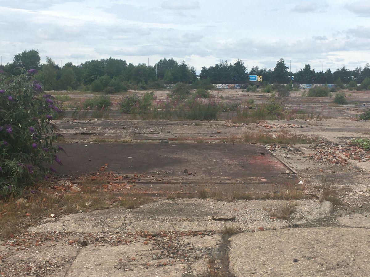 The derelict Phoenix 10 site in Walsall.