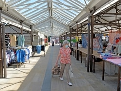 Back to work! Traders welcome return of Dudley Market after lockdown