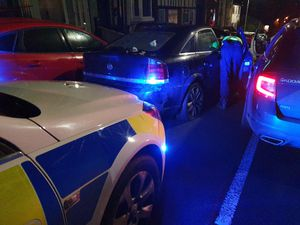 Officers stopped the vehicle on Christmas Day.