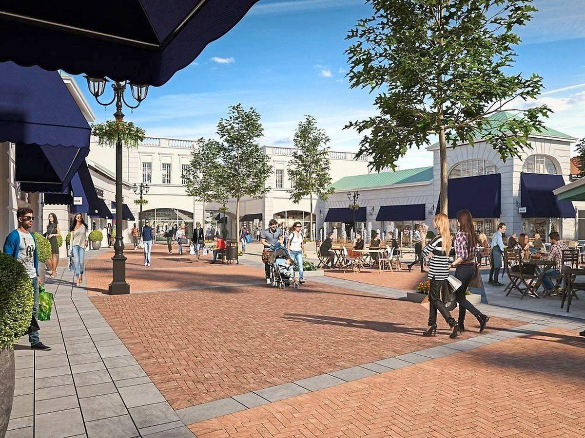 How the Cannock Designer Outlet Village will look