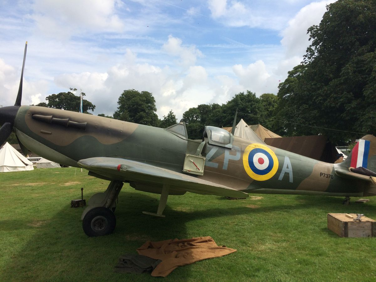 The War and Peace Battle of Britain Experience Spitfire 2 - Image Credit War and Peace Displays