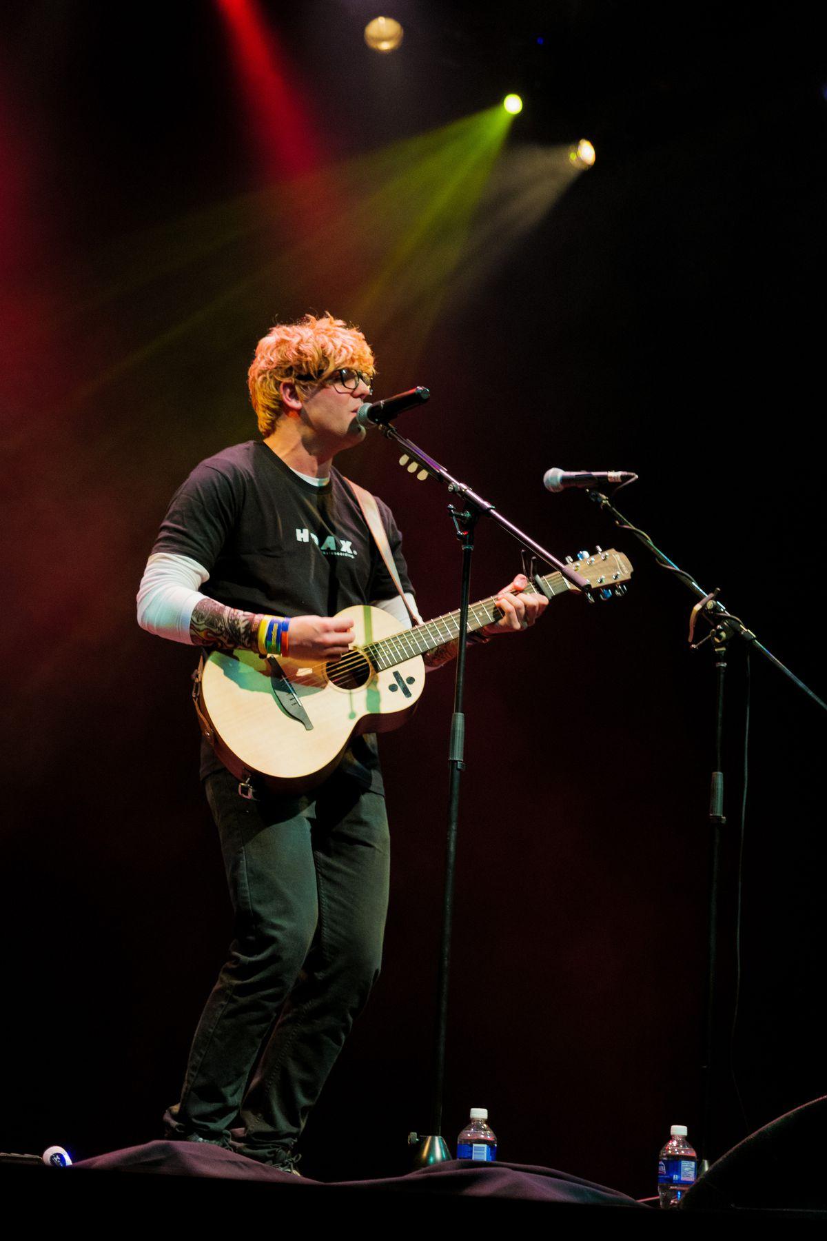 Ed Sheeran tribute act