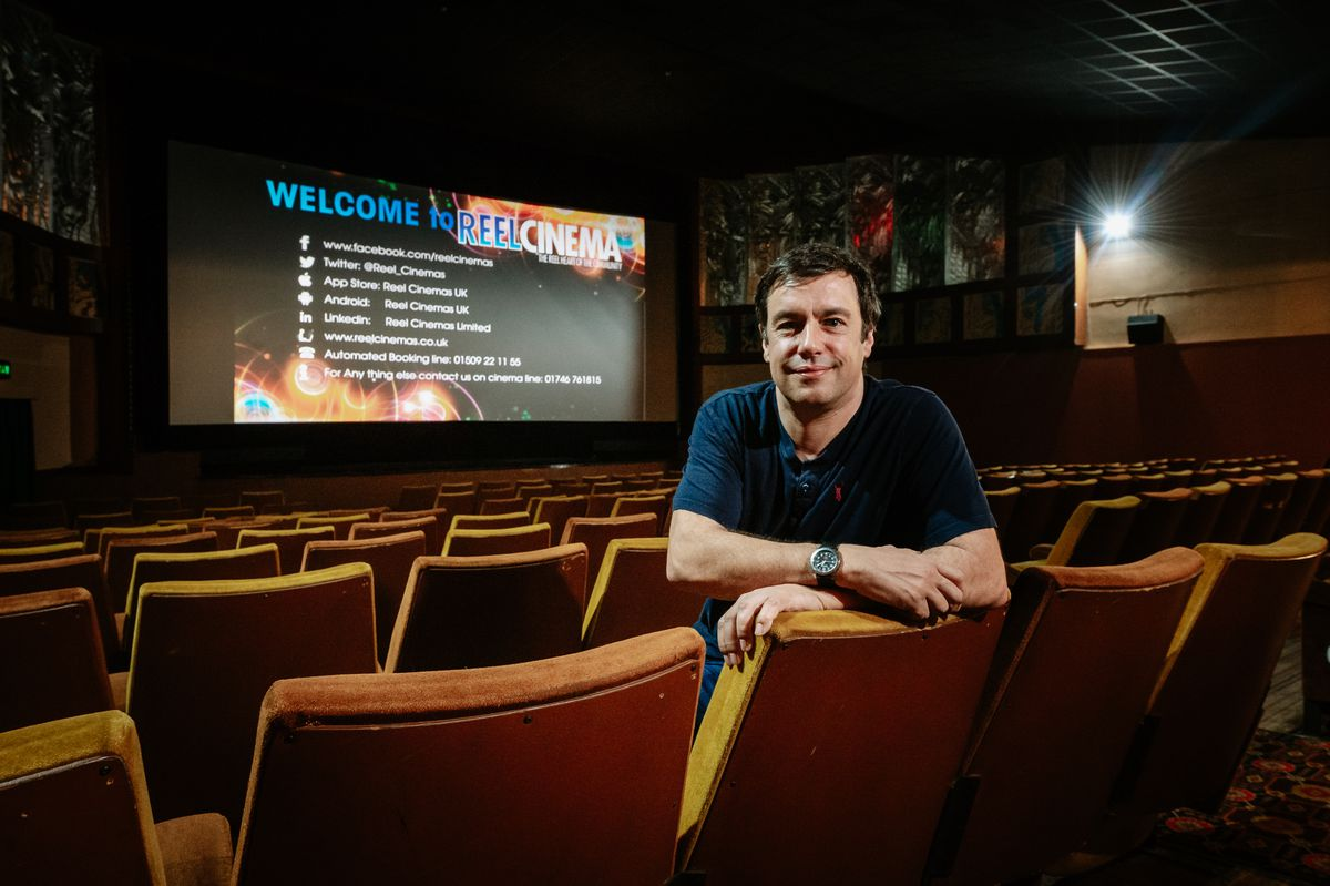 """Majestic Cinema manager James Frizzell says the £115k government grant is a """"welcome relief"""" and will help secure its future"""