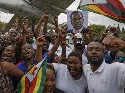 Zimbabwe's incoming leader Emmerson Mnangagwa arrives in capital Harare