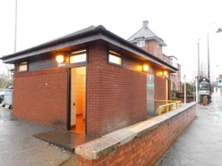 Town centre visitors will have to hold on a little longer to use public toilets