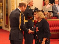 MBE makes birthday one to cherish for Walsall volunteer