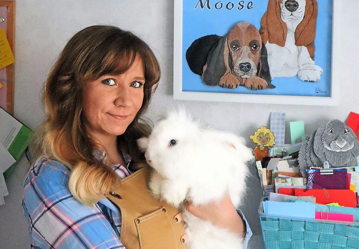Pet artist Gemma Lorente-Shore, from Wolverhampton