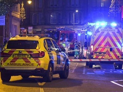 City centre street sealed off in chemical alert