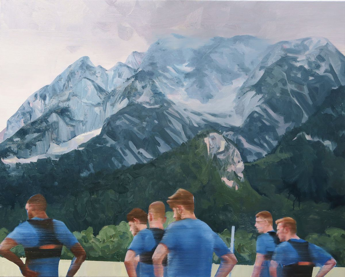 Baggies players training in the Austrian mountains